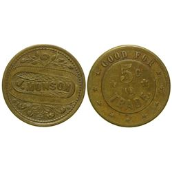 J. Monson Token (Butte, Montana)