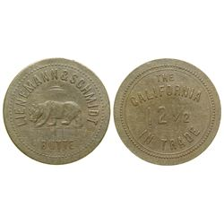 The California Token (pictorial) (Butte, Montana)