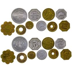 Ten Circle Tokens (Circle, Montana)