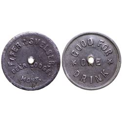 Fifer & Snelser Token (Deer Lodge, Montana)