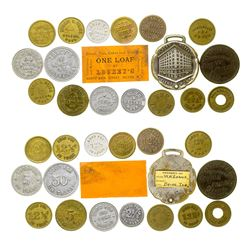 Helena Town Token Collection (Helena, Montana)