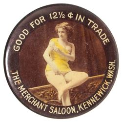 Merchant Saloon Good For Mirror (Kennewick, Washington)