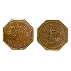 Lake Saloon Token (Medicine Lake, Montana)