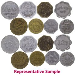 Miles City Token Collection (28) (Miles City, Montana)