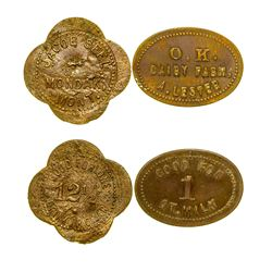 Two Mondak Tokens (Mondak, Montana)