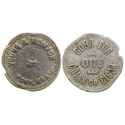 Young & Womack Token (Pony, Montana)