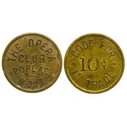 The Opera Club Token (Poplar, Montana)