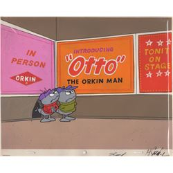 Original Cel & Background for Orkin Pest Control Commercial (Melendez Studios, 1969)
