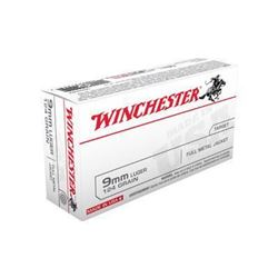 *AMMO* Winchester Ammo USA9MM Best Value USA 9mm FMJ 124 GR (500 ROUNDS) 020892212312
