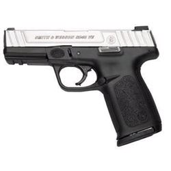 "*NEW* SMITH AND WESSON SD40VE 40 SW 4"" 14+1 Blk Poly Grip Black Frame/SS Slide 022188149333"