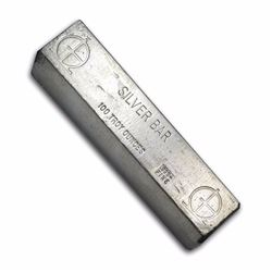 One piece 100 oz 0.999 Fine Silver Bar Omega M & B Mining Rare & Highly collectible