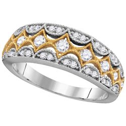0.5 CTW Diamond Ladies Ring 10KT White Gold - GD105788-REF#64M7F