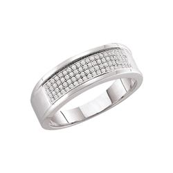 0.25 CTW Diamond Ladies Ring 10KT White Gold - GD49974-REF#31F4N