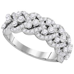 1.37 CTW Diamond Ladies Ring 14KT White Gold - GD104772-REF#176W3G