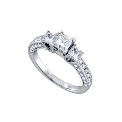 2.01 CTW Diamond Ladies Ring 14KT White Gold - GD68710-REF#323M9F