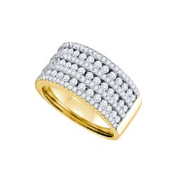 1.51 CTW Diamond Ladies Ring 14KT Yellow Gold - GD70307-REF#224S9V