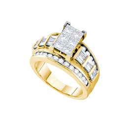 3 CTW Diamond Ladies Ring 14KT Yellow Gold - GD56575-REF#504A2X