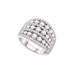2 CTW Diamond Ladies Ring 14KT White Gold - GD45646-REF#233V9A