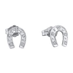 0.05 CTW Diamond Earrings 10KT White Gold - GD18347-REF#8R9H