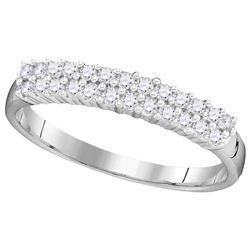 0.33 CTW Diamond Ladies Ring 10KT White Gold - GD104091-REF#19T7K
