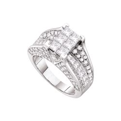 3 CTW Diamond Ladies Ring 14KT White Gold - GD53201-REF#467N9S