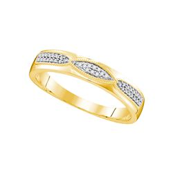 0.25 CTW Diamond Trio Set Ring 10KT Yellow Gold - GD108213-REF#50H3W