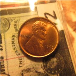 1909 VDB Lincoln Cent. Red-Brown MS 64.
