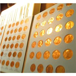 1941-1975 Lincoln Cent Set in a Whitman folder. Some BU. (88 pcs.).