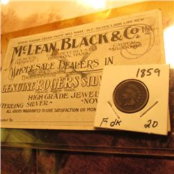 """McLean, Black & Co. Inc…Wholesale Dealers in The Celebrated Genuine Rogers Silverware High Grade Je"