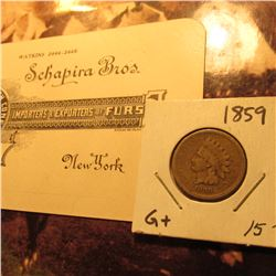"""…Schapira Bros. The House of French Coneys Importers & Exporters of Furs…New York"" Business Card &"