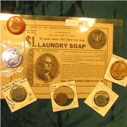 "188_ era contract from ""The American Chemical Works Diamond Labor Saving Laundry Soap"" allowing the"