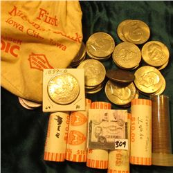 BU Statehood Quarter Rolls: 1999 D New York, 2003 Missouri, 2004 Texas, 2007 Wyoming, 2008 Hawaii; (