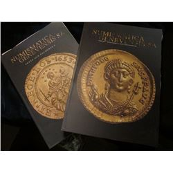 "(3) Large Illustrated Ancient & Antique Coin Catalogs ""Numismatica Genevensis SA"" & ""Numismatica Gen"