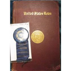"""United States Notes"", by John Jay Knox, ex Library edition, 1885 Second Edition, Hdb., 247 pps, som"