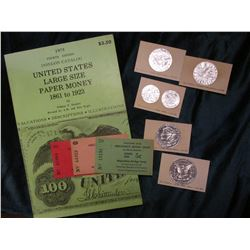 "1975 Fourth Edition Donlon catalog ""United States Large Size Paper Money 1861 to 1923"", by William P"