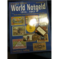 "2nd Edition ""A Guide & Checklist World Notgeld 1914-1947 And other Local Issue Emergency Money"", by"