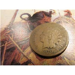 1870 Indian Head Cent. Good. Catalogs $55.00