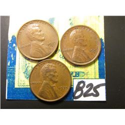 (2) 1929 D & 33 P Lincoln Cents. All EF+.