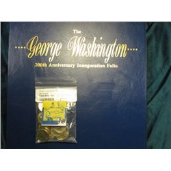 """The George Washington 200th Anniversary Inauguration Folio"" from the Postal Commemorative Society w"
