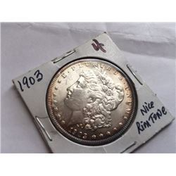 1903 Morgan Silver Dollar Gem BU MS-63