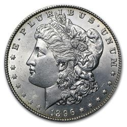 1896 Morgan Dollar BU MS-63 Mint Error VAM 28     mm