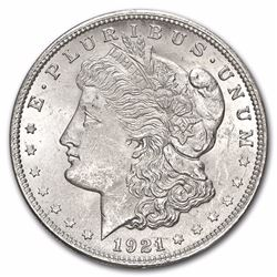 1921 Morgan Silver Dollar - MS-63