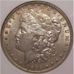 1896-P $1 Morgan Silver Dollar, MS-63 VAM-28 Mint Error