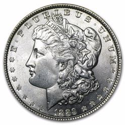 1889 Morgan Dollar BU MS-63