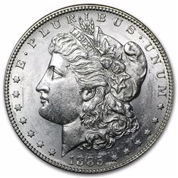 1885-S Morgan Dollar BU MS-63 RARE DATE