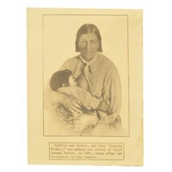 "Cynthia Ann Parker & ""Prairie Flower""  Photo"