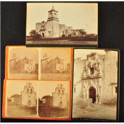 Mission Cabinet Card Photographs San Antonio Texas
