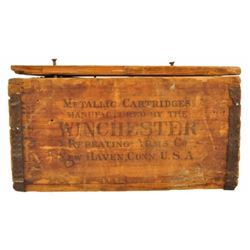 Antique .44 Winchester Ammunition Crate