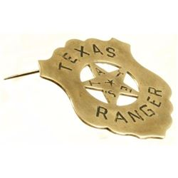 Texas State Ranger Badge