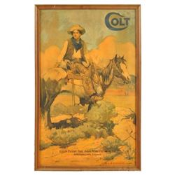 Early Colt Tex & Patches Poster